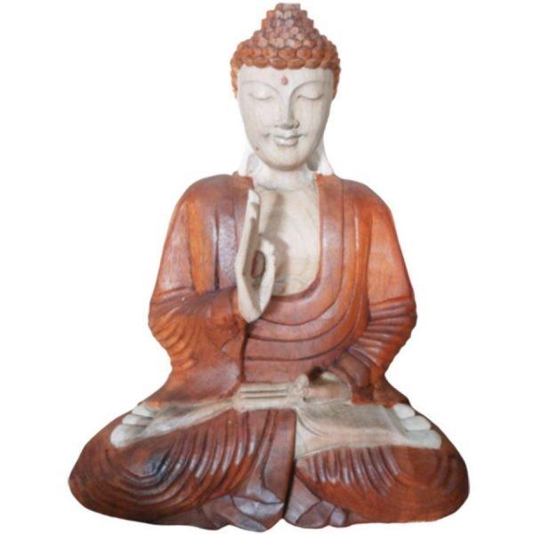 2310 Wooden Buddha