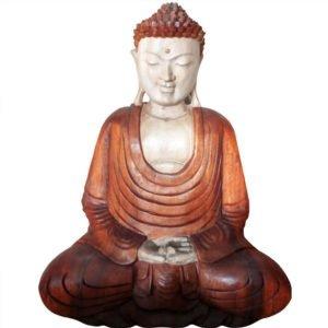 2311 Wooden Buddha Hands Down