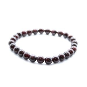 Blood Garnet Crystal Power Bracelet