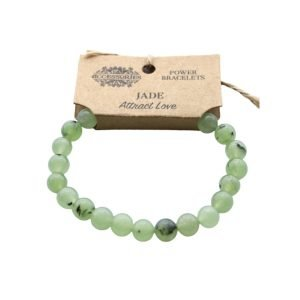 Jade Crystal Power Bracelet