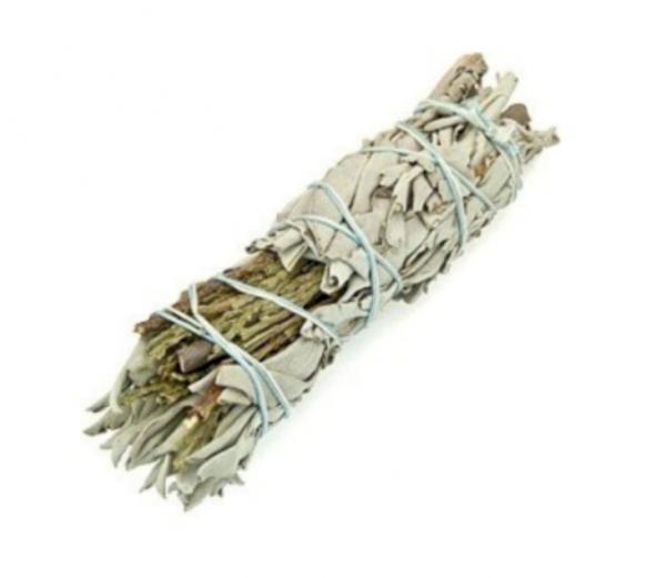 White Sage and Cedar Smudge Stick
