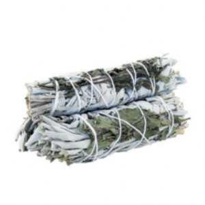 White Sage and Peppermint Smudge Stick