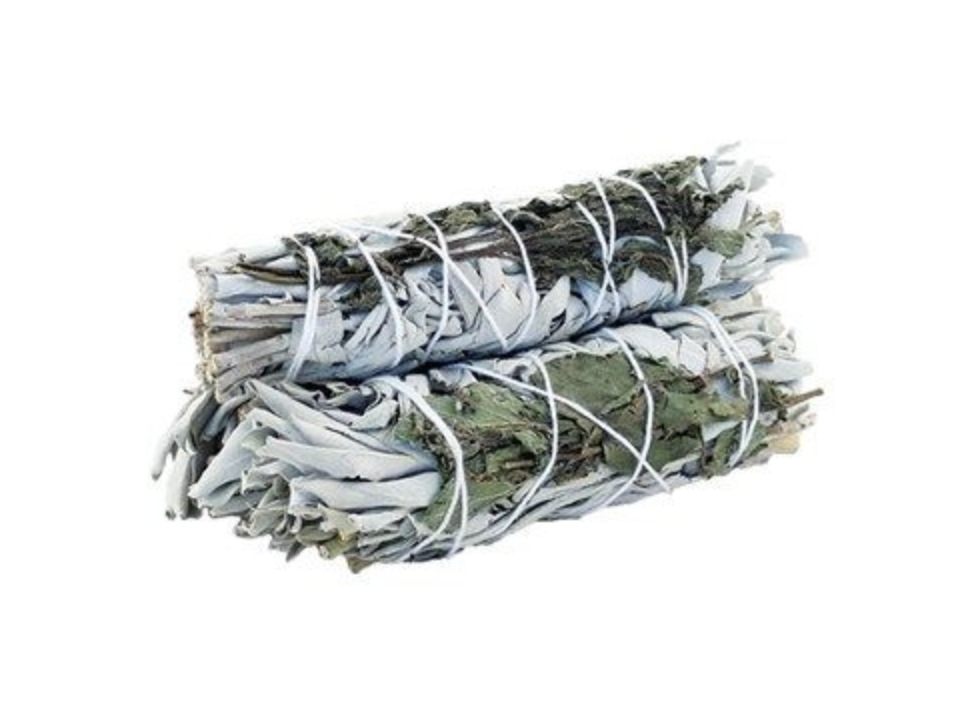 White Sage and Rosemary Smudge Stick