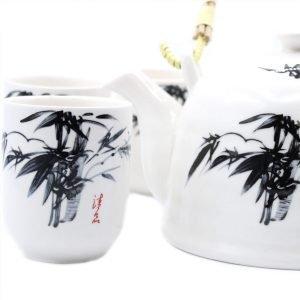 10840 Herbal Teapot Set Oriental