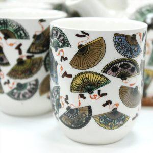 Herbal Teapot Set China Fans