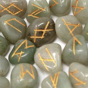 2014 Runes Green Aventurine