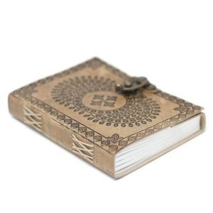 3214 Leather Mandala Notebook