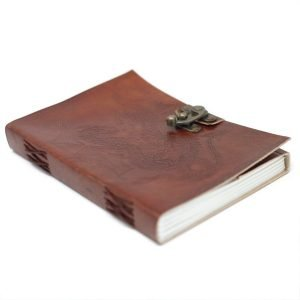 3215 Leather Dragon Notebook