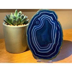9814 Agate Slice Blue