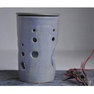 Handmade Pottery Oil Burner Lavender