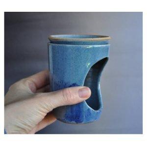 Handmade pottery oil burner BCO